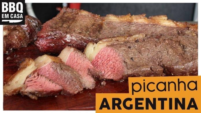 Picanha Argentina - BBQ em Casa