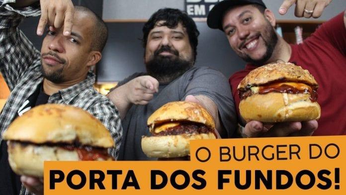 Burger de Pasta de Alho Suprema Feat. Porta dos Fundos - BBQ em Casa
