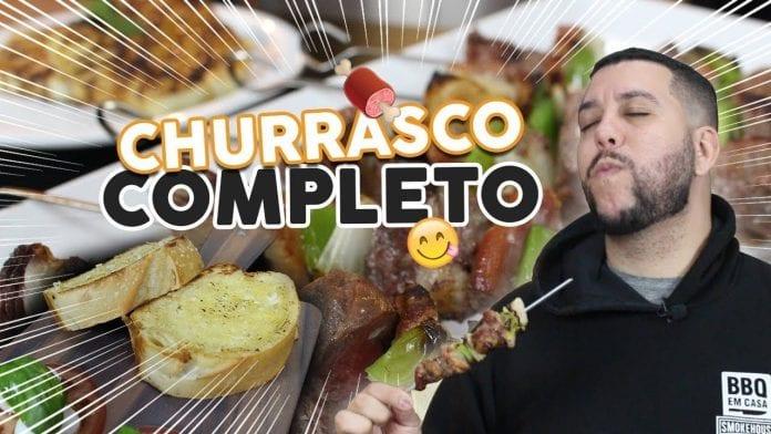 Como Fazer Churrasco Completo Fácil - BBQ em Casa