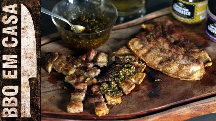 Receita de Panceta Grelhada - BBQ em Casa