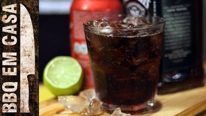 Bourbon Coke - Drinks para seu Churrasco! - BBQ em Casa