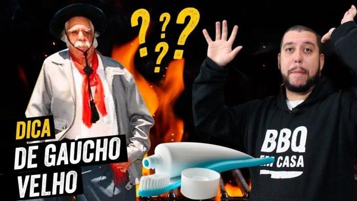 Dica Do Gaúcho Velho - Como Evitar Labaredas No Churrasco - BBQ em Casa