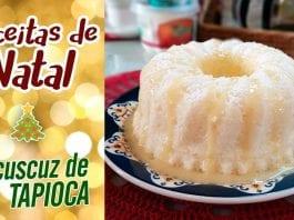 Cuscuz De Tapioca Feat. Carol Conquista   Receitas De Natal - BBQ em Casa