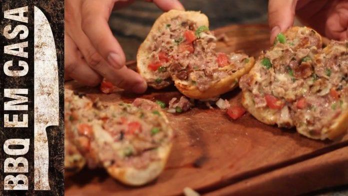 Receita de Pão de Churrasco - BBQ em Casa