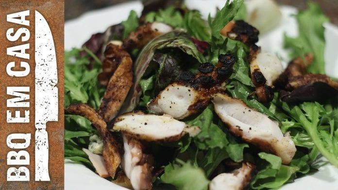 Receita de Salada com Polvo - BBQ em Casa