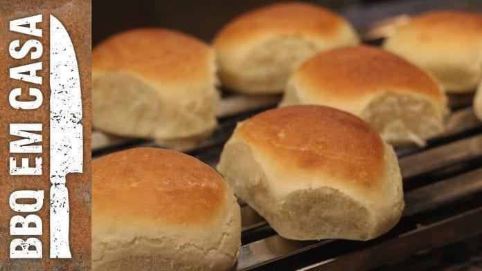 Receita de Pão de Hambúrguer - BBQ em Casa