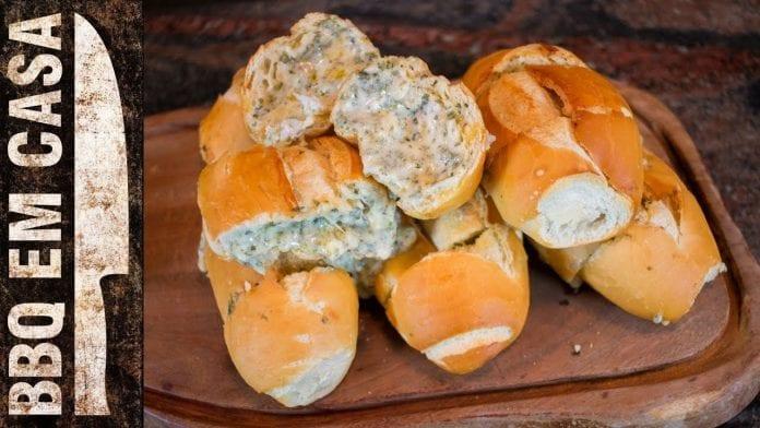 Receita de Pasta de Alho com Queijo e Orégano - BBQ em Casa