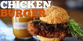 Chicken Burger (Como Fazer Hambúrguer De Frango) - Cansei de Ser Chef