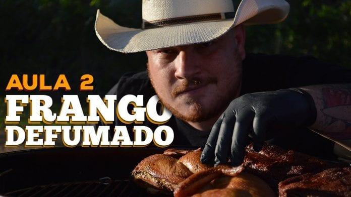 Frango Defumado - Cansei de Ser Chef