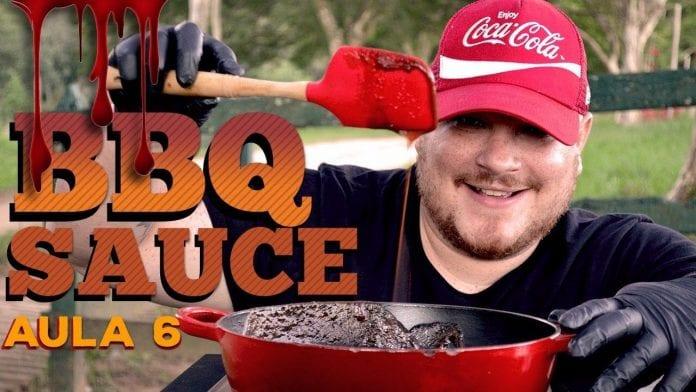 Barbecue Sauce (Molho Barbecue) - Cansei de Ser Chef