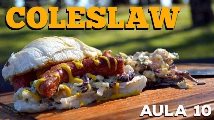 Coleslaw (Salada de Repolho Americana) - Cansei de Ser Chef