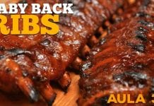 Baby Back Ribs (Costelinha Barbecue) Cansei de Ser Chef