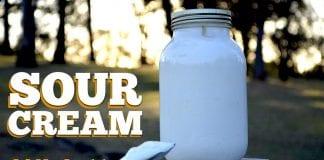 Sour Cream (Creme Azedo) - Cansei de Ser Chef