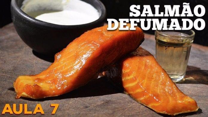 Smoked Salmon (Salmão Defumado) - Cansei de Ser Chef