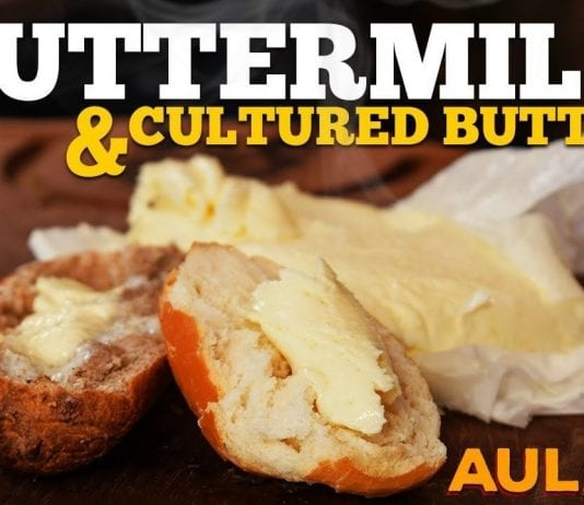 Buttermilk - Cultered Butter (Como Fazer Buttermilk) - Cansei de Ser Chef