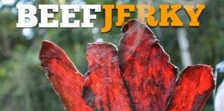 Beef Jerky - Jerked Beef (Como Fazer Carne Seca Americana) - Cansei de Ser Chef