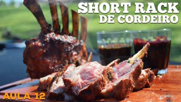 Short Rack (Costeleta de Cordeiro) - Cansei de Ser Chef