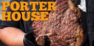Porter House (Como Fazer T-Bone) - Cansei de Ser Chef