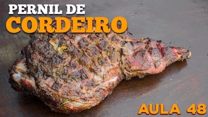 Leg Of Lamb (Como Fazer Pernil De Cordeiro Na Churrasqueira) - Cansei de Ser Chef