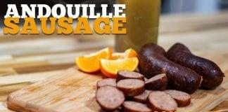 Andouille Sausage (Como Fazer Linguiça Defumada) - Cansei de Ser Chef