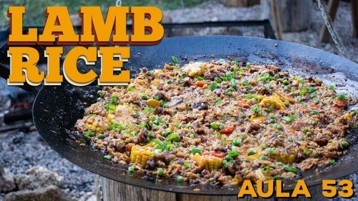 Lamb Rice (Como Fazer Arroz de Cordeiro) - Cansei De Ser Chef Feat Guto Quirós - Cansei de Ser Chef