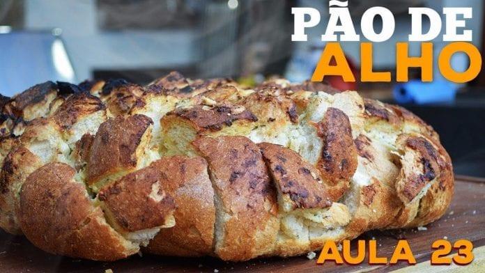 Garlic Bread (Melhor Pão De Alho Do Mundo) - Cansei de Ser Chef