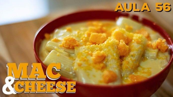Mac And Cheese (Como Fazer Macarrão Com Queijo Americano) - Cansei de Ser Chef