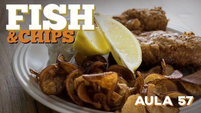 Fish And Chips (Como Fazer Peixe Frito Inglês Com Batatas) - Cansei de Ser Chef