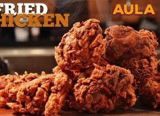 Southern Fried Chicken (Frango Frito Americano) - Cansei de Ser Chef