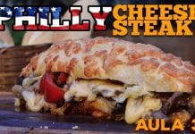 Philly Cheesesteak (O Melhor Sanduíche Do Mundo!) - Cansei de Ser Chef