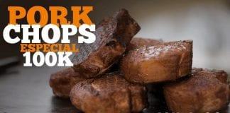 Pork Chops (Como Fazer Chuleta Defumada) - Cansei de Ser Chef