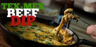 Tex-Mex Beef Dip (Como Fazer Comida Tex-Mex) - Cansei de Ser Chef