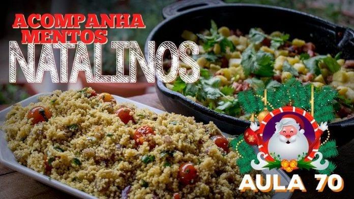 Acompanhamentos Natalinos - Cansei de Ser Chef