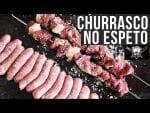 Como Fazer Churrasco No Espeto - Barbaecue