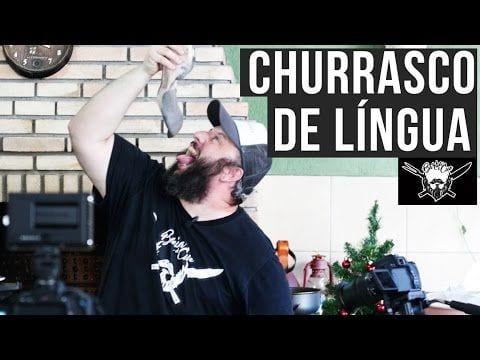 Churrasco de Língua (Cenas Fortes) - Barbaecue