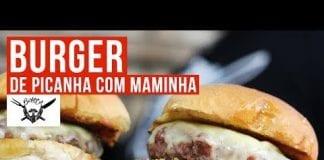 Burger de Picanha e Maminha - Barbaecue