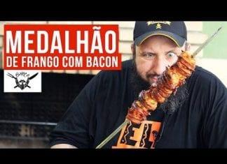 Medalhão de Frango com Bacon - Barbaecue