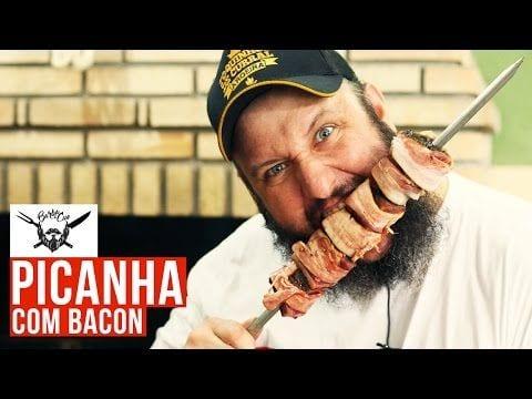 Medalhão de Picanha com Bacon - Barbaecue
