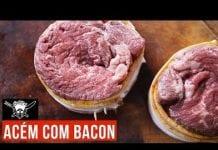 Acém com Bacon - Barbaecue