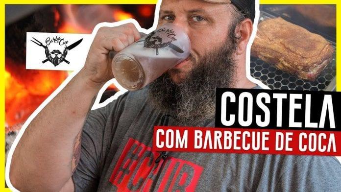 Costela Defumada com Molho Barbecue de Coca-Cola - Barbaecue