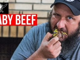 Baby Beef na Mostarda - Barbaecue