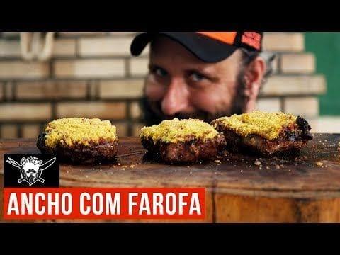 Ancho com Farofa na Brasa - Barbaecue
