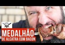 Medalhão de Alcatra com Bacon - Barbaecue