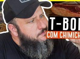 T-Bone Com Chimichurri - Barbaecue