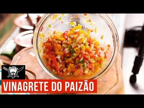 Vinagrete do Paizão - Barbaecue