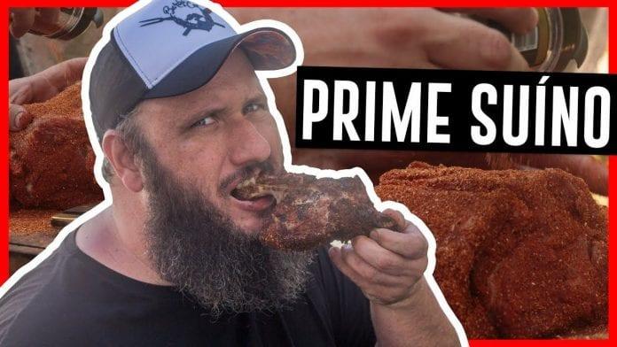 Prime Suíno Com Dry Rub - Barbaecue