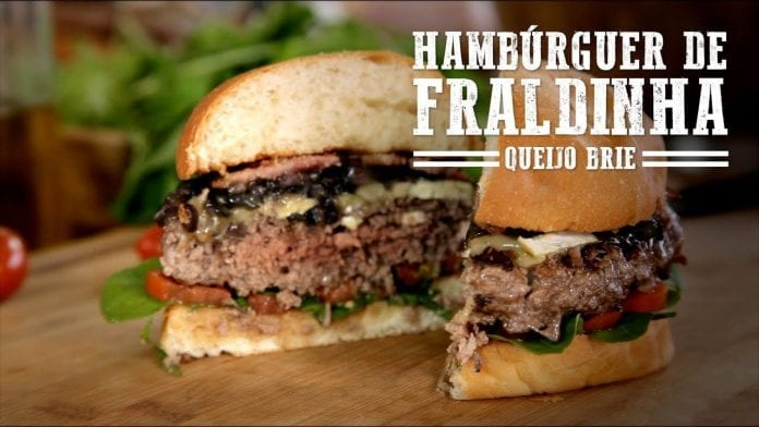 Hambúrguer de Fraldinha Premiado - Churrasqueadas