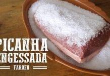 Picanha Engessada E Farofa De Bacon - Churrasqueadas