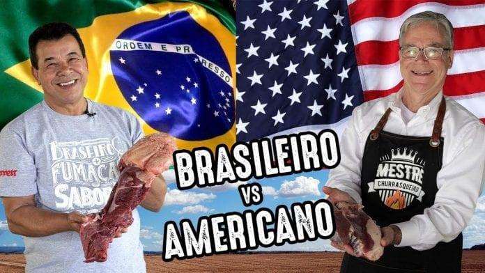 Churrasco Americano vs Brasileiro - Churrasqueadas
