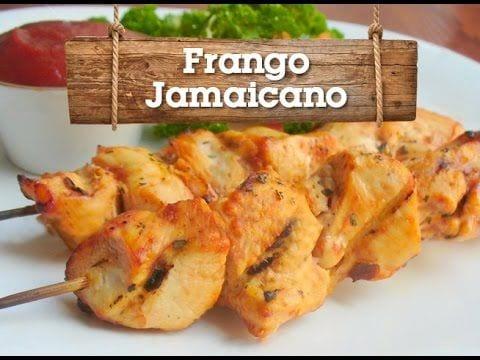 Frango Jamaicano - Churrasqueadas